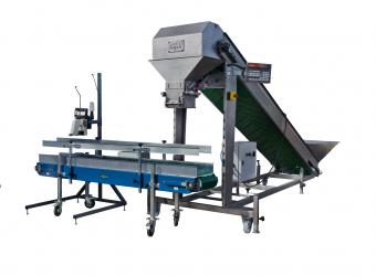 Vážící a pytlovací stroj WPS50